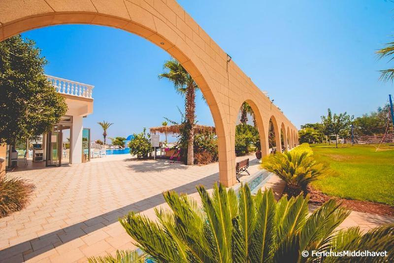 Ceasars resort hageanlegg nær Famagusta Nord Kypros.